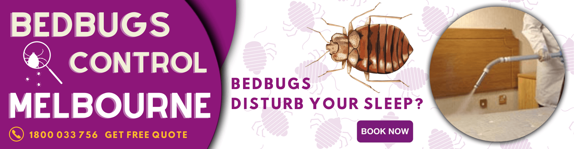 Bed Bugs Control Melbourne